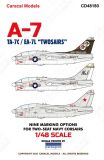 CD48180 EA-7 & TA-7 Corsair II