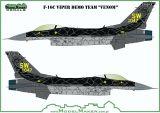 MOD72157 F-16C Block 50 Fighting Falcon Demo Team Venom
