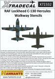 XD72332 C-130 Hercules Walkway Stencils