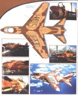 CPS3202 A-7E Corsair II VA-72 Blue Hawks