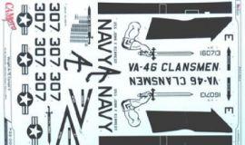 CPS3204 A-7E Corsair II VA-46 Clansmen