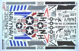 CPS4803 A-7E Corsair II VA-22 Fighting Redcocks & VA-46 Clansmen
