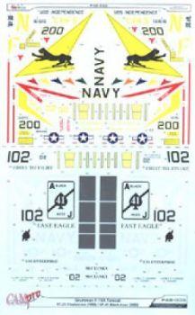 CPS4806 F-14A Tomcat VF-21 Freelancers & VF-41 Black Aces