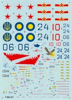 HD48003 Su-27 Flanker-B
