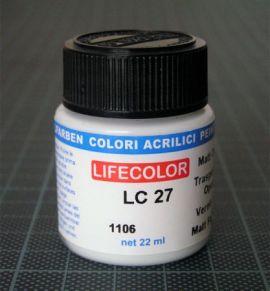 LC27 Mattlack 22 ml