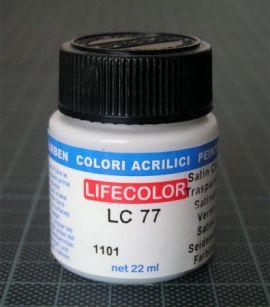 LC77 Seidenmattlack 22 ml