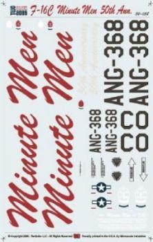 TB32038F-16C Colorado ANG Minute Men 50th Anniversary