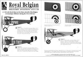 BR4513 Belgische Luftwaffe 1914-18