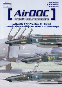 ADMS492 F-4F Phantom II Stencils Norm 72