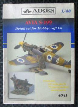 AI48031 Avia S-199 Super Detail Set