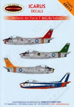 ID72009 F-86E(M) Sabre