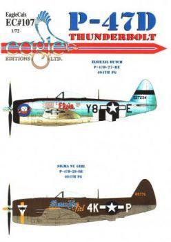 ECD72107 P-47D Thunderbolt