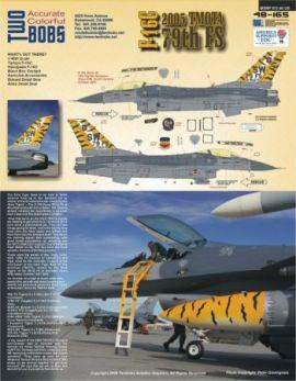 TB48165 F-16C Block 50 Fighting Falcon