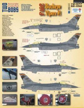 TB37004 F-16C Block 30 Fighting Falcon