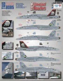 TB32054 F/A-18C Hornet
