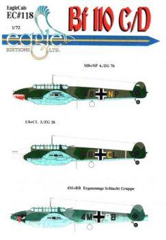 ECD72118 Bf 110C/D