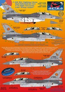 ASD4820 F-16BM Fighting Falcon