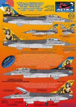 ASD7218 F-16A Block 15 Fighting Falcon