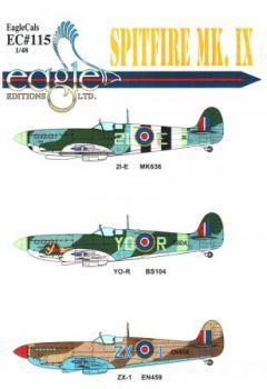 ECD72115 Spitfire Mk.IX