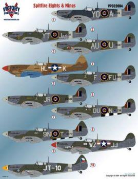 VPD32004 Spitfire Mk.VIII & Mk.IX