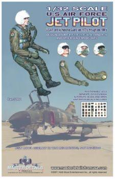MD32001 Jetpilot US Air Force, späte 1970er bis 1990er Jahre
