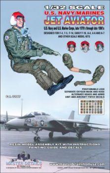 MD32007 Jetpilot US Navy/Marines, späte 1970er bis 1990er Jahre