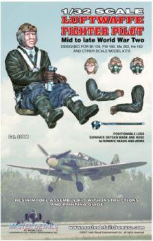 MD32008 Jägerpilot Luftwaffe WK II, Kriegsmitte bis Kriegsende
