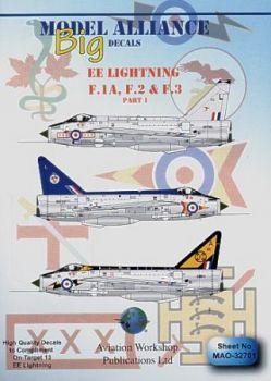 MAL32701 Lightning F.1A / F.2 / F.3
