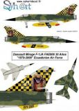 SY48060 Mirage F1JA Special Finish Ecuadorian Air Force