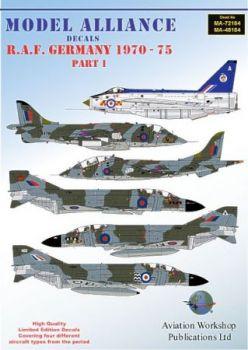 MAL72184 RAF Germany 1970-1975 Teil 1