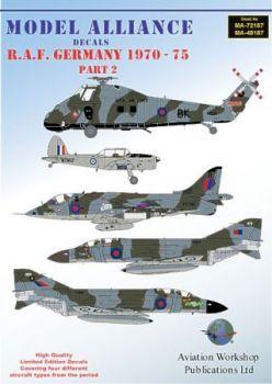 MAL72187 RAF Germany 1970-1975 Teil 2