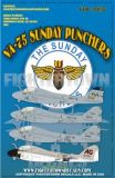 FTD48037 A-6E Intruder VA-75 Sunday Punchers