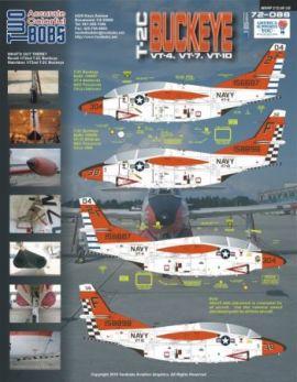 TB72088 T-2C Buckeye VT-4, VT-7, VT-10, NTPS