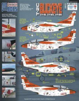 TB72089 T-2C Buckeye VT-19, VT-23, VT-26