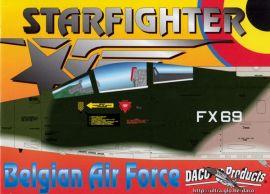 DCD4464 F/TF-104G Starfighter belgische Luftwaffe