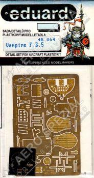 EE48064 Vampire FB.5 Detail Set
