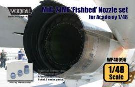 WP48096 MiG-21MF Fishbed Schubdüse