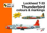 MKD4808 T-33 Thunderbird Colours and Markings