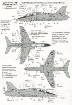 XD32031 Hawk T.1/1A Warn- und Wartungshinweise