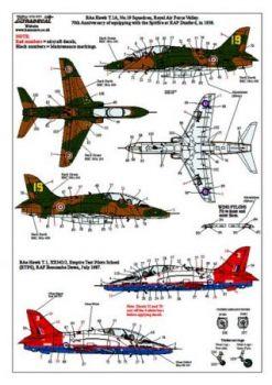 XD32033 Hawk T.1 Sonderanstriche ETPS/Spithawk