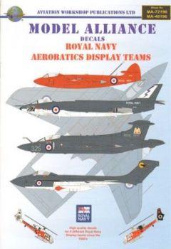 MAL72196 Royal Navy Kunstflug- und Vorführmaschinen