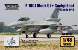 WP48122 F-16CJ Block 52+ Fighting Falcon Cockpit Set