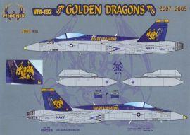 PHD4806 F/A-18C Hornet VFA-192 Golden Dragons