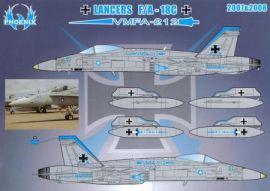 PHD4807 F/A-18C Hornet VMFA-212 Lancers