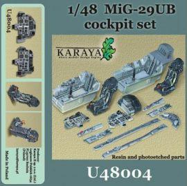 KYU4804 MiG-29UB Fulcrum B Cockpit Set