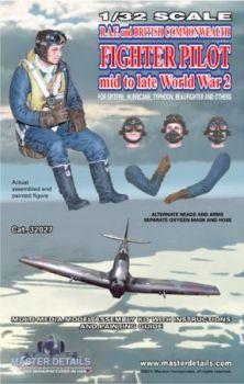 MD32027 Jägerpilot RAF/Commonwealth WK II, Kriegsmitte bis -ende