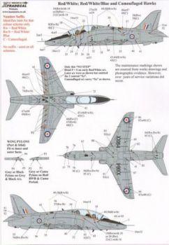 XD32038 Hawk T.1 Warn- und Wartungshinweise