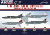 AFD32218 UK Air Arm Update: Harrier Retirement 1960-2010