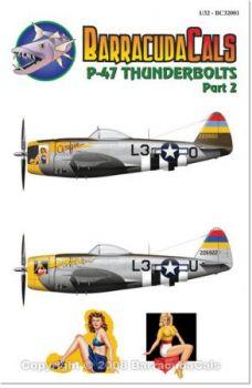 BCD32001 P-47D Thunderbolt