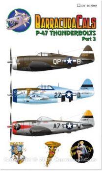 BCD32003 P-47D Thunderbolt